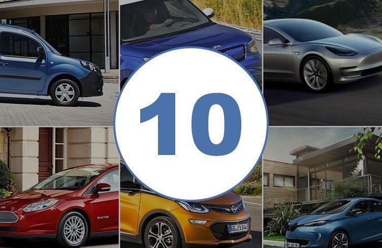 Deset nejlevnějších elektromobilů na trhu v roce 2017