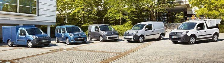 Všechny dostuoné verze Renault Kangoo ZE