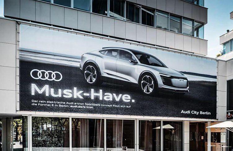Audi provokuje Teslu