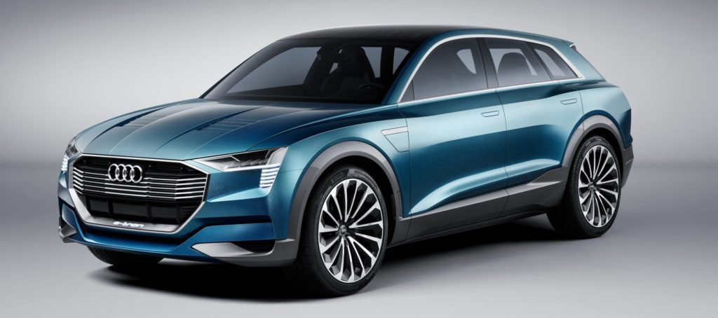 Audi e-tron quattro přední maska