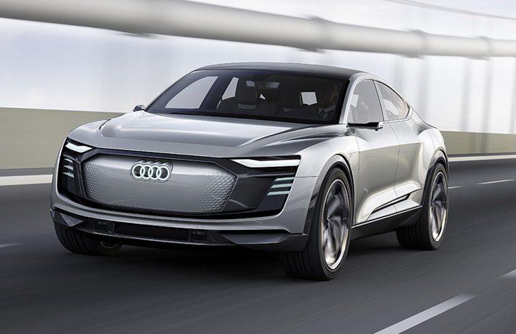 Výroba Audi e-Tron Sportback začne v Bruselu roku 2019