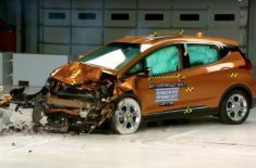 Chevy Bolt EV crash-test