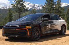 Testování elektromobilu FF91 proběhne přímo v závodu