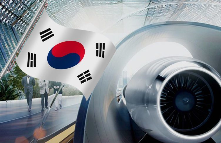 Hyperloop vznikne v Jižní Koreji, přípravy započaly