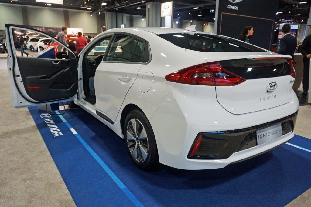Hyundai Ioniq Plug-in Hybrid zadní část