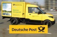 Elektrické dodávky pro německou poštu, bude jich až 2500