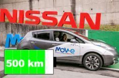 Nissan brzy vyvine elektromobily s dojezdem 500km