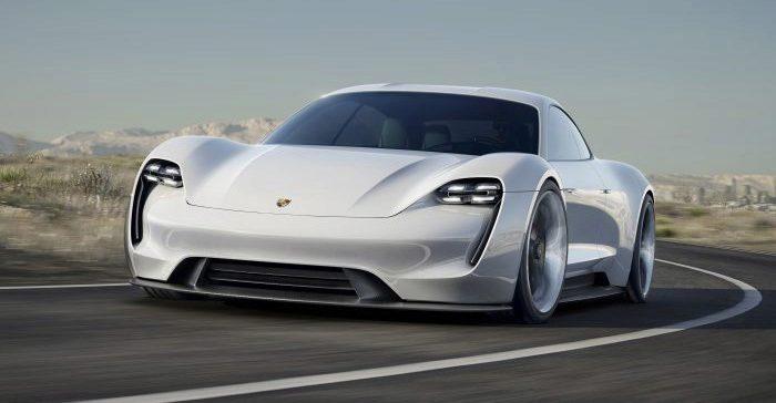 Koncept vozu Porsche Mission E