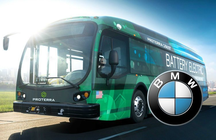 BMW investuje do elektrobusů Proterra miliony dolarů