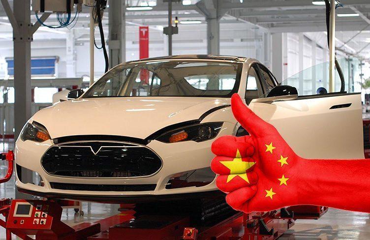Tesla Gigafactory v Číně
