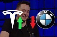 Tesla je čtvrtá nejhodnotnější automobilka, překonala BMW