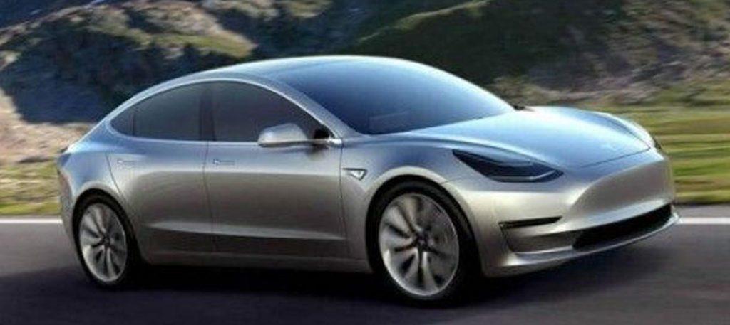 Tesla Model 3 koncept