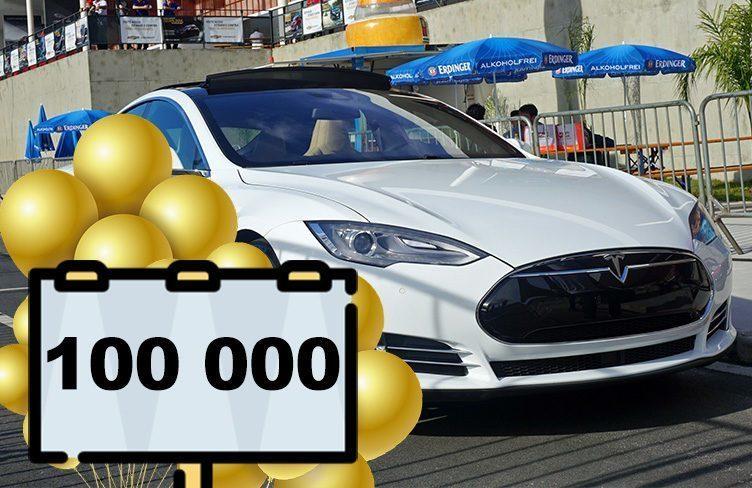 V USA už jezdí 100 000 elektromobilů Tesla Model S
