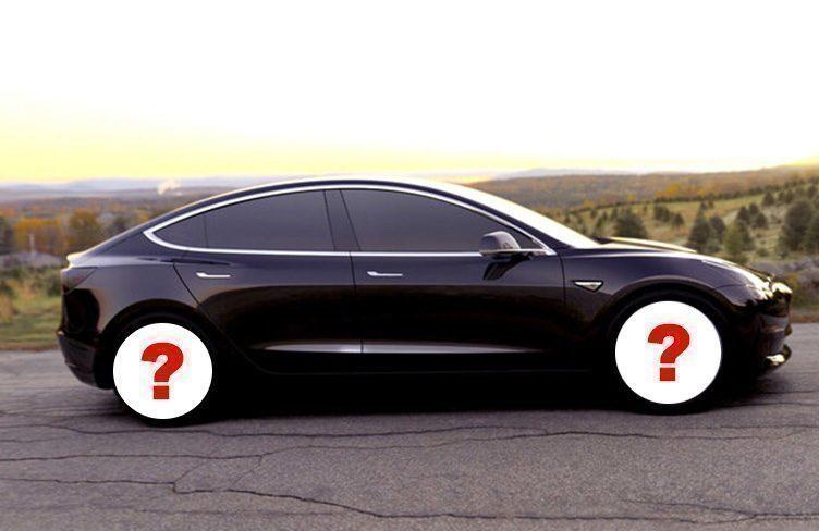 Nová kola pro Tesla Model 3
