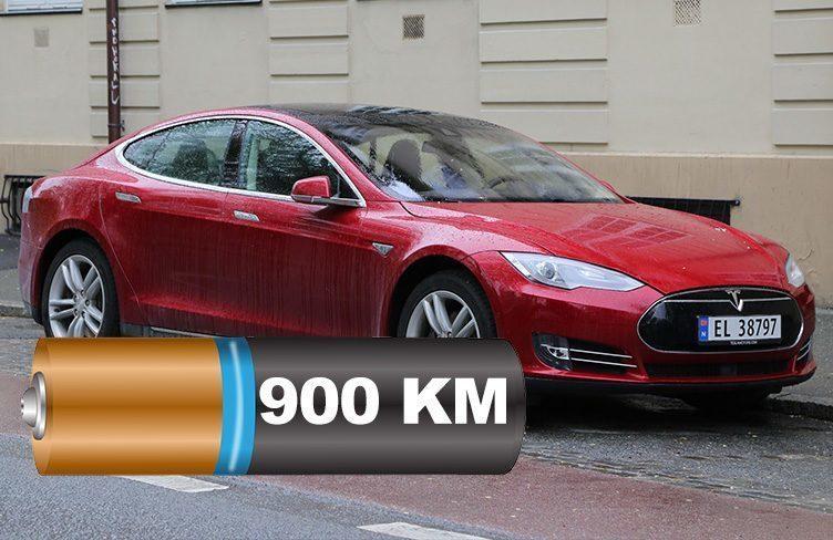 Tesla Model S zvládla ujet 900 kilometrů na jedno nabití!