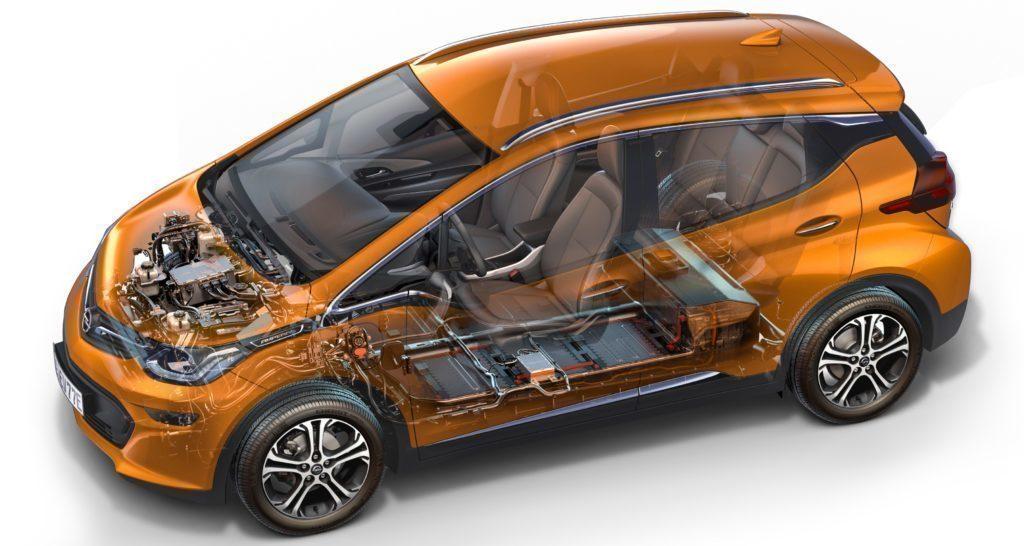 Opel Ampera-e průřez technologiemi