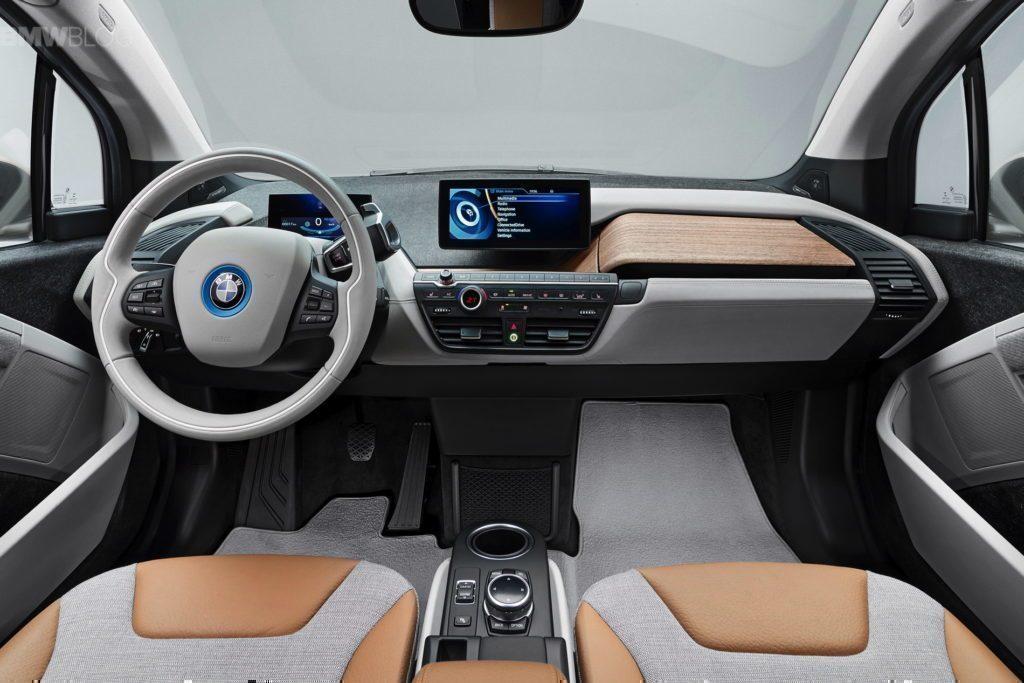 BMW i3 interiér