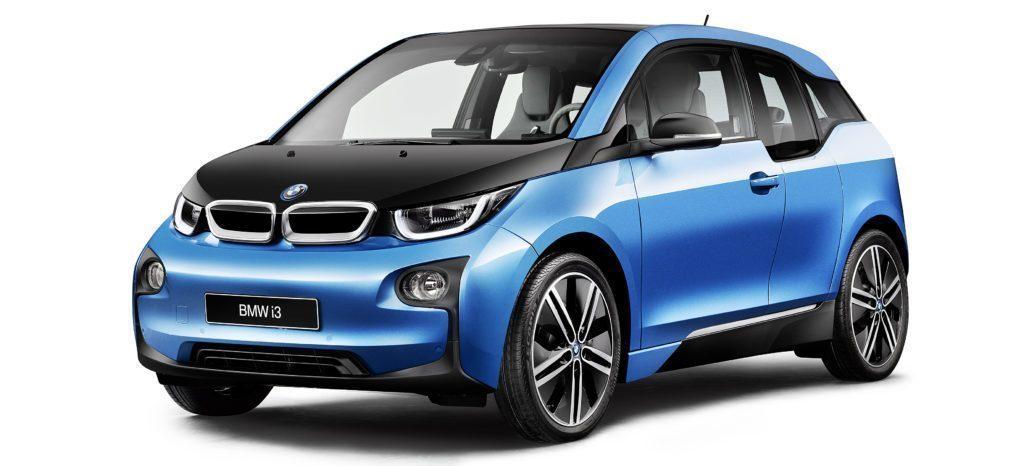 BMW i3 přední část