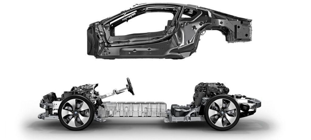 Karbonová konstrukce BMW i8