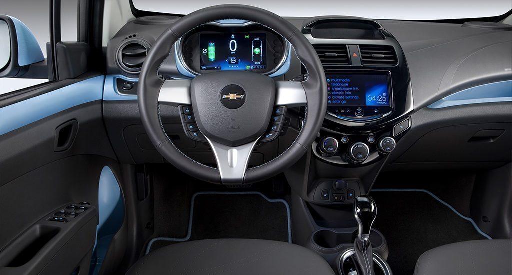 Chevrolet Spark EV interiér