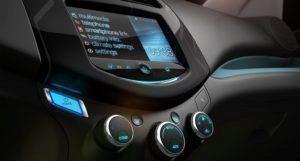 Chevrolet Spark EV infotainment systém