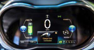 Chevrolet Spark EV přístrojová deska
