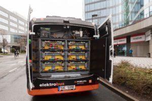 Baterie elektrobusu SOR