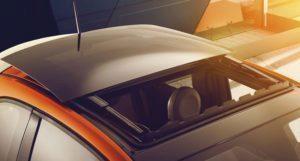 Fiat 500e střešní okno