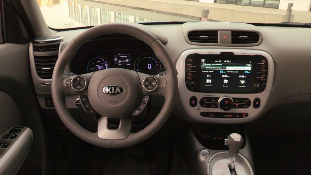 Kia Soul EV interiér