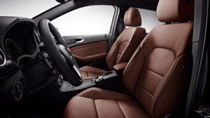Mercedes-Benz B250e přední sedadla