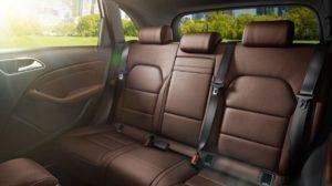 Mercedes-Benz B250e zadní sedadla