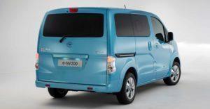 Nissan e-NV200 zadní část