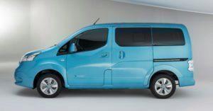 Nissan e-NV200 boční část