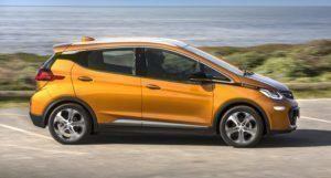 Opel Ampera-e exteriér z boku