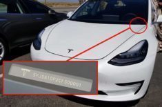 Tesla Model 3 VIN