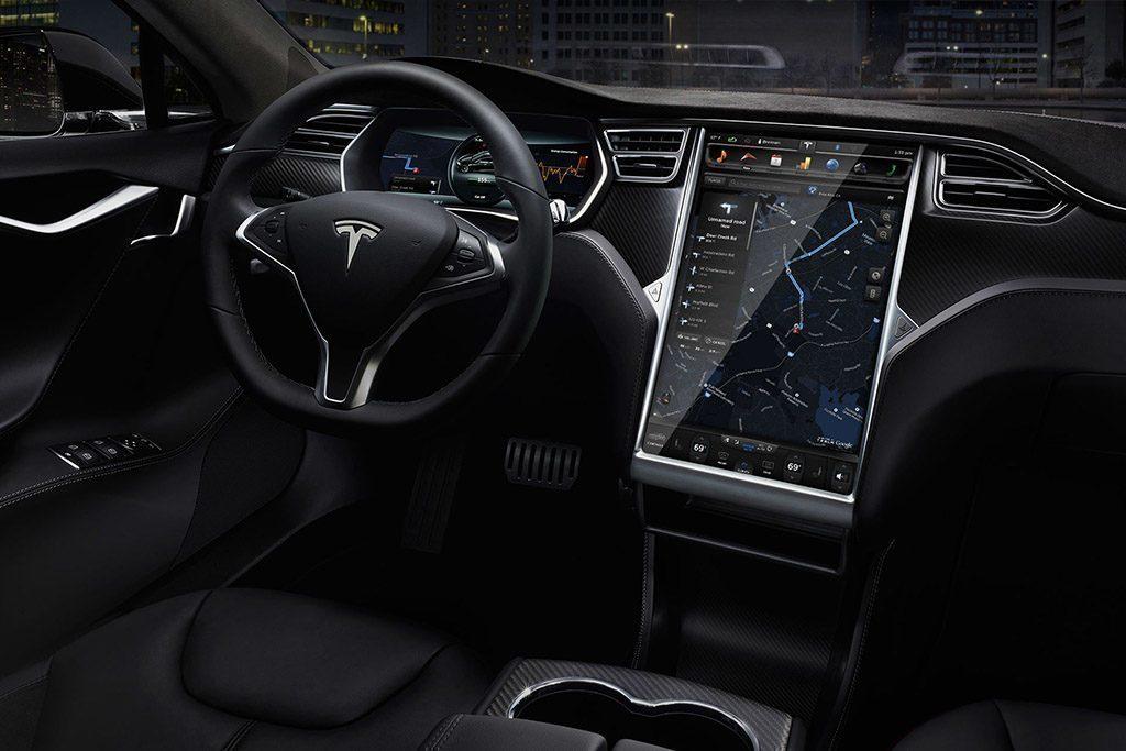 Tesla model s interior 2017