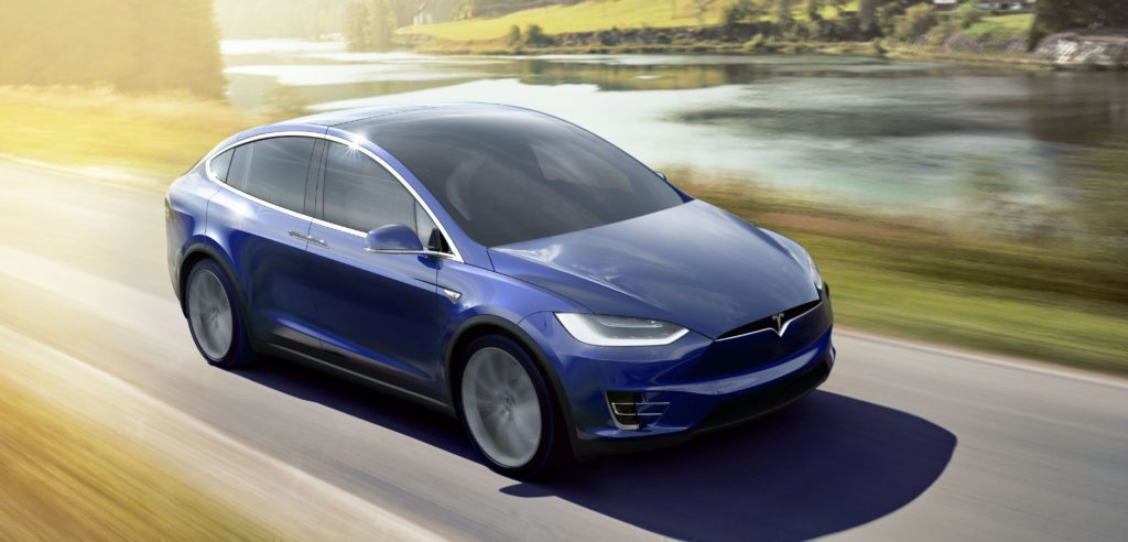 Tesla Model X v akci