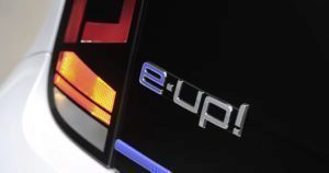 Volkswagen e-Up! logo