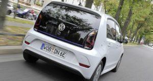 Volkswagen e-Up! zadní část