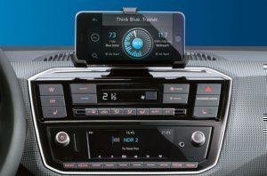 Volkswagen e-Up infotainment systém
