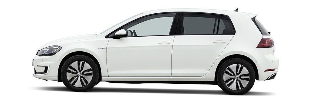 Volkswagen e-Golf ze strany