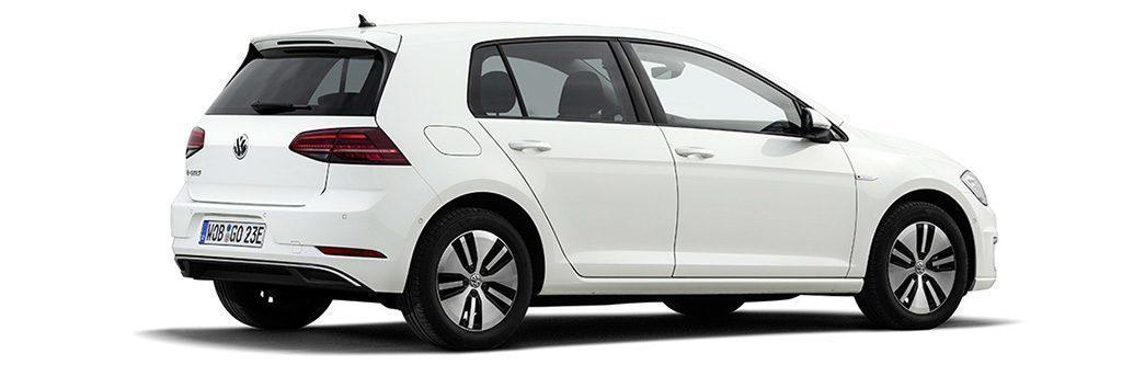 Volkswagen e-Golf z boku